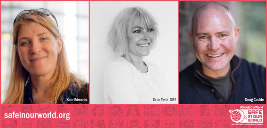 Dr Jo Twist OBE, Award-winning Advocate Kate Edwards and Leading Actor Doug Cockle Join as Patrons